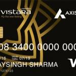 Axis Vistara Credit Card