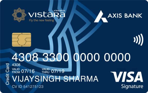 Axis Vistara Signature Credit Card Reviews