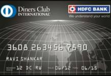 HDFC Diners Club Black Credit Card Reviews