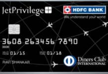HDFC Diners Club JetPrivilege Credit Card Reviews
