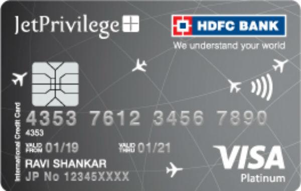 HDFC Jet Platinum Credit Card Reviews