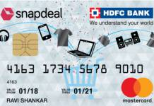 HDFC Snapdeal Credit Card Reviews