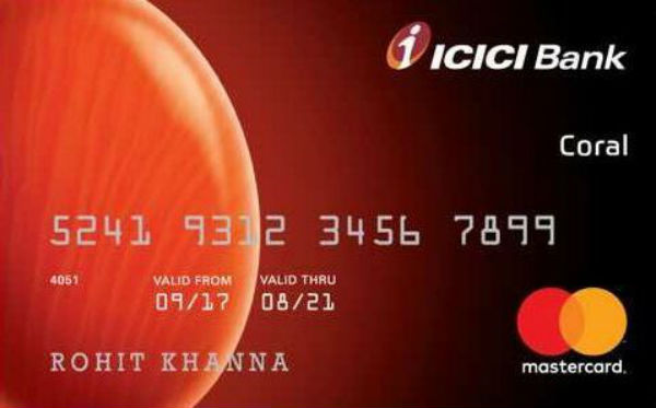 ICICI Coral Credit Card Reviews