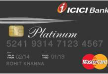 ICICI Platinum Chip Credit Card Reviews
