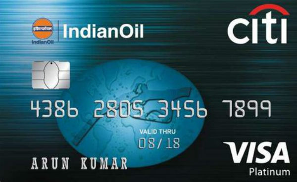 IndianOil Citi Platinum Credit Card