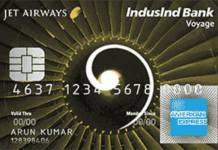 IndusInd Jet Airways Voyage Credit Card Reviews