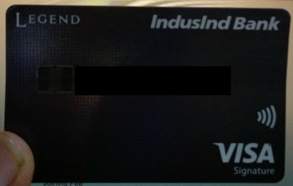 IndusInd Signature Legend Credit Card Review