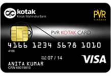 Kotak PVR Platinum Credit Card Reviews