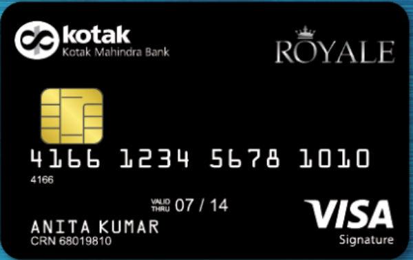Kotak Royale Signature Credit Card Reviews