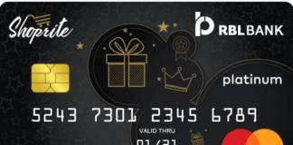 RBL SHOPRITE Credit Card Reviews