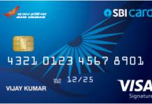 SBI Air India Signature Credit Card Reviews