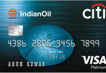 Indian Oil Citi Credit Card