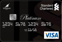 Standard Chartered Platinum Rewards Credit Card