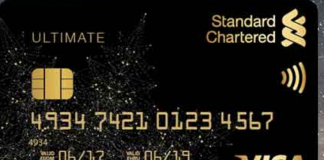 Standard Chartered Ultimate Credit Card