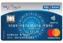 Yes Prosperity Rewards Plus Credit Card